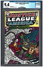 JUSTICE LEAGUE OF AMERICA #68 CGC 9.4 (12/68) DC Comics White pages