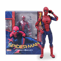 Marvel Spiderman Homecoming Spider-Man PVC Action Figure Figma Gift Model Toys