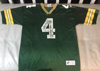 Vintage Brett Favre Green Bay Packers Jersey Men Size Large Logo Athletic Fair