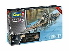 Revell 05160 1 350 Tirpitz Platinum Edition Ship Kit