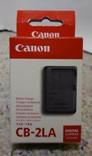 NEW Genuine Canon CB-2LA Charger for NB-8L Battery PowerShot