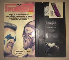 WCW Superbrawl III 3 (VHS, 1993) NWO NWA WWF WWE RARE