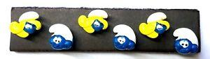 SMURF CHARACTER  Push Pins - Set of 6 Handmade Decorative Thumb Tacks SALE