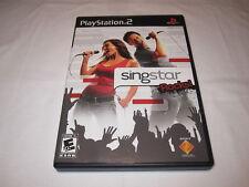 SingStar Rocks (Playstation PS2) Black Label Original Release Complete Nr Mint!