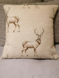 Fryetts Stags Natural Cushion Cover 16 inch all sizes