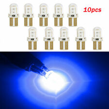 10pcs LED T10 194 168 W5W COB 8SMD CANBUS Silica Blue License Light Bulbs Lamps