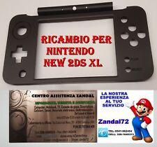 COVER CASE SCOCCA DI RICAMBIO PER NINTENDO NEW 2DS XL COLORE NERO 2DSXL SHELL