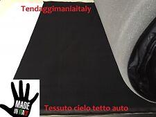 Tessuto tetto interno auto H 150 Cielo tettuccio colore nero MT 1
