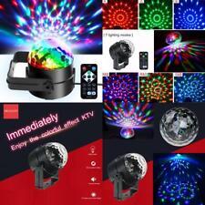 Mini Dj Disco Ball Party Stage Lights Sbolight Led 7Colors Effect black