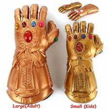 Kids/Adult Avengers Gauntlet LED Light Thanos GlovesCosplay Prop Gift