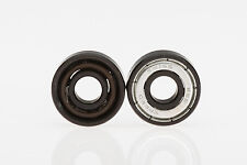 Victory Vortec Swiss Ceramic 608 Speed Skate Black Bearings - Qty 16