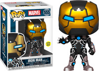 Iron Man Model 39 Mark XXXIX Glow GITD Funko Pop Vinyl New in Box