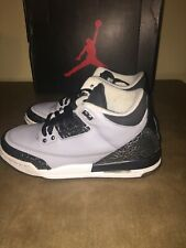 Nike Air Jordan Retro 3 Wolf Grey - Air Jordan -398614-004 Youth Size 6Y