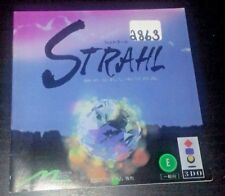 STRAHL INSTRUCTION BOOKLET MANUAL ONLY (JAPANESE)  3DO NO GAME