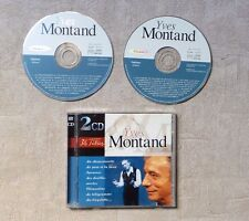 "CD AUDIO MUSIQUE / YVES MONTAND ""YVES MONTAND"" 36T 2 X CD COMPILATION 1998 POP"