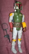 """Vintage STAR WARS BOBA FETT 12"""" Action Figure AF KENNER 1979"""