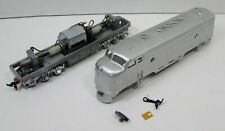 Vintage HO Scale Athearn F7A Dual Drive Diesel Locomotive - Undecorated