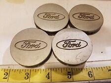 (4) FORD CENTER CAPS HUB CAPS F5C6-1A096-BA / F3CC-1A096-AA {HC95}