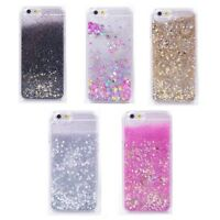 Liquid Glitter Stars Bling Moving Latest Design Case Cover For iPhone X Samsung