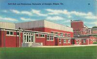 Postcard Drill Hall University of Georgia Athens