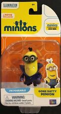 "Minions Gone Batty Minion Poseable 2"" Figure New Thinkway Toys"