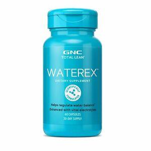GNC Total Lean Waterex Water Balance Regulation Cellulite Control Microflora Bio