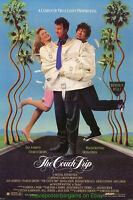 COUCH TRIP MOVIE POSTER Original 27x40 DAN AYKROYD DONNA DIXON 1988