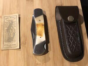 """The Bone Collector Hand Made 5"""" Folding Knife"""
