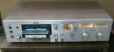 Akai Cr-83D 8-Track Stereo Cartridge Deck & Manual