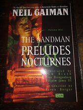 Sandman Volume 1: Preludes and Nocturnes TPB Neil Gaiman