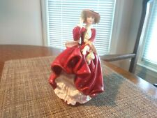 "Vtg Royal Doulton Signed ""Top of the Hill""Figurine c.1937 Hn1834 Mint"