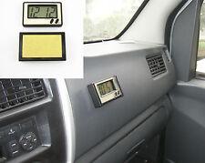 Mini Black Car Driver Head Up Location Windshield LCD Digital Display Time Clock