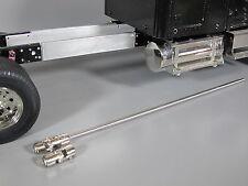 "Aluminum 4 7/8"" Frame Extension + Drive Shaft Tamiya 1/14 Globeliner King Hauler"