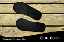 Suntana Premium Quality Sticky Feet (Black) - 50 pairs