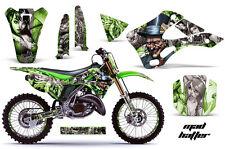 KAWASAKI KX 125/250 Graphic Kit AMR Racing # Plates Decal Sticker Part 99-02 MHS