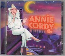 2 X CD ALBUM ANNIE CORDY *ANNIE CORDY LIVE*