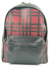Coach Mens (F11164) Charles Wild Leather Backpack Laptop Bag