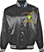 """98TH INFANTRY DIVISION  """"IROQUOIS"""" *EMBROIDERED 1-SIDED SATIN JACKET"""