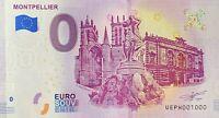 BILLET 0  EURO MONTPELIER  FRANCE   2019  NUMERO 1000