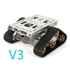 NEW SainSmart V3 Metal Robot Tracks Platform FPV for Arduino Rover