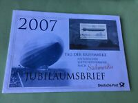 Germany Zeppelin Airship  Cancel  Stamps Cover Ref 52289