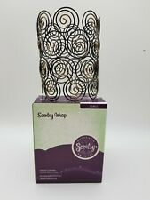 """Authentic Scentsy Warmer Wrap Only """"Curls"""" works w/Silhouette Collection"""
