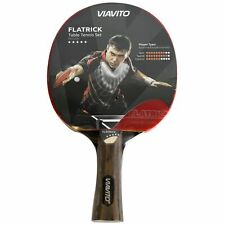 Viavito Table Tennis Bat FlaTrick 5 Star Paddle 5-Ply Ping Pong Racket