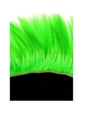 Helmet Hawks- Motorcycle Helmet Mohawk (8) Hair Patches Customize Colors