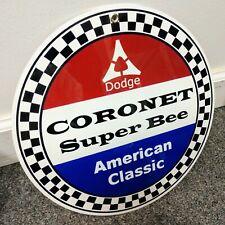 Dodge Coronet Super Bee sign