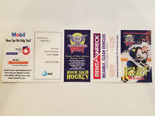 Beast of New Haven 1998/99 AHL Minor Hockey Pocket Schedule - Rent a Wreck