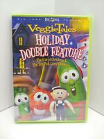 NEW VeggieTales Holiday Double Feature DVD With 5 Bonus Song CD SEALED