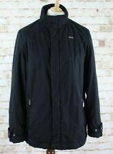 YSL YVES SAINT LAURENT Black Padded Coat size M