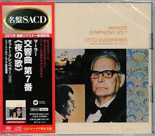 OTTO KLEMPERER-MAHLER: SYMPHONY NO. 7 SONG OF THE NIGHT-JAPAN 2 SACD Hybrid K25