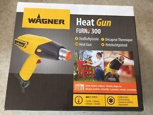Wagner 2359352 FURNO 300 Heat Gun, 400 ° C / 575 ° C, 1600 W, Flus Capacity